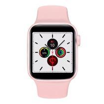 Relogio Inteligente W34s Smartwatch Faz Chamadas e Troca Pulseira Unissex Sport Fit - Rosa - Smart Bracelet