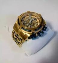 6d3188507c1 Relogio Invicta 12900 Bolt Zeus Dourado