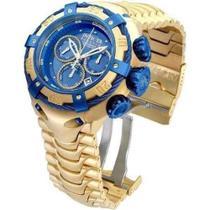 Relógio Invicta Bolt modelo 21361 Dourado / Azul - Iv