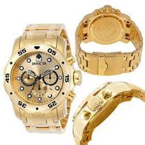 Relógio Invícta Pro Diver 0074 Dourado - Invcta