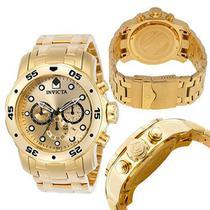 Relógio Invícta Pro Diver 0074 Dourado -