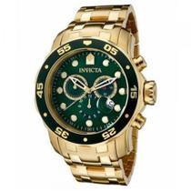 Relógio Invícta Pro Diver 0075 Dourado Masculino - Invcta