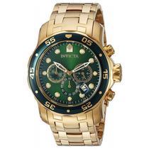 Relógio Invícta Pro Diver 0075 Dourado Masculino -