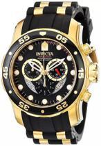 Relogio Invícta Pro Diver Dourado Masculino - 6981 - Invcta