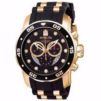 4956219ac76 Relógio Invicta Pro Diver Dourado Masculino 6981.