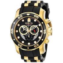 Relógio Invicta Pro Diver Dourado Masculino - 6981 -