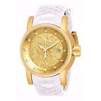 c1e714184ea Relógio Invicta S1 Hally Yakuza 19546 Dourado Branco