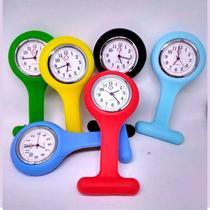 Relógio Lapela de Bolso para Enfermagem Colorido Supermedy Quartz -