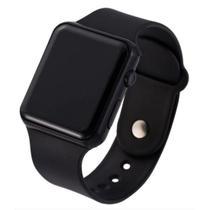 Relógio Led Digital Bracelete Esportivo Pulseira de Silicone Unisex Adulto Infantil - Sobrinhos