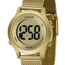 Relógio Lince Digital Feminino SDPH109L CXKX Dourado -