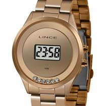 Relógio Lince Digital Feminino SDR4610L BXRX Rose -