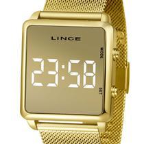 Relógio Lince Digital Led Feminino MDG4619L BXKX  Dourado -