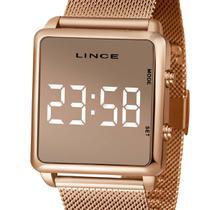 Relógio Lince Digital Led Feminino MDR4619L BXRX Rose -
