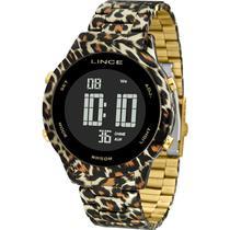 Relógio Lince Feminino Animal Print SDPH103LPXKP -