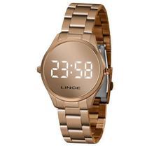Relógio Lince Feminino Digital Rose Gold Mdr4617l -