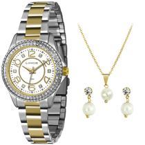 Relógio Lince Feminino Kit Lrtj055l Ku06, C/ Garantia E Nf -