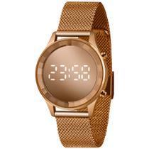 Relógio Lince Feminino LED Digital Espelhado ROSE LDR4648L-RXRX ORIGINAL NOTA FISCAL - Orient / Lince