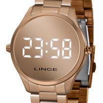 Relógio Lince Feminino LED Digital Espelhado Rose MDR4617L-BXRX ORIGINAL NOTA FISCAL -