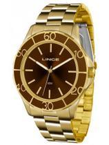 Relógio Lince Feminino LRGJ067L Dourado -
