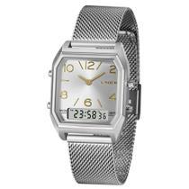 Relógio Lince Feminino Ref:LAMH118L Anadigi Prateado -