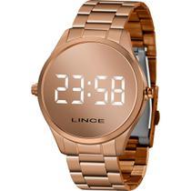 Relógio Lince Feminino Rosê MDR4617LBXRX Digital 5 Atm Cristal Mineral Tamanho Médio -