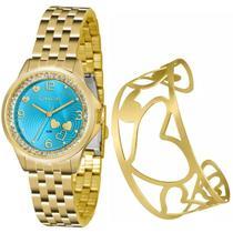 Relógio Lince Kit Feminino Lrg4511l Ku65, C/ Garantia E Nf -