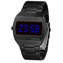Relógio Lince LED Digital Unissex MDN4621L DXPX Preto -