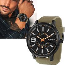 Relógio Lince Masculino Grande Original Prova dÁgua MRPH095 P2EX -
