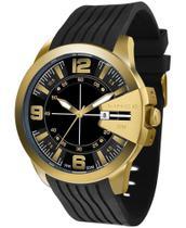 Relógio Lince Masculino Preto MRP4404S -