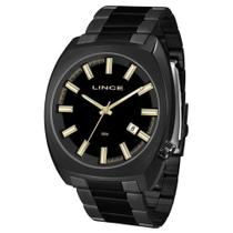 Relógio Lince Masculino Ref: Mrn4584s P1px Casual Black