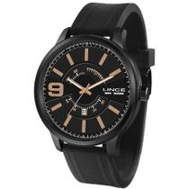 Relógio Lince Masculino Ref: Mrph097s P2px Casual Black