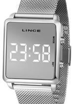 Relógio lince unissex digital quadrado mdm4619l bxsx -