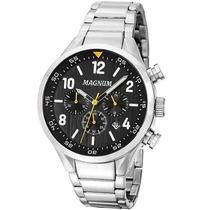 Relógio MAGNUM cronógrafo masculino prata MA34790T -