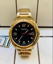 Relógio Magnum masculino Dourado -