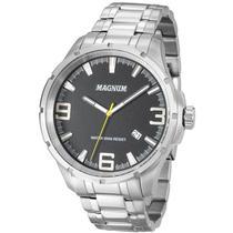Relógio Magnum Masculino MA34352T Prata -