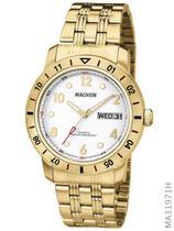 Relógio Magnum Sports MA31971H Quartz  Pulseira de Aço Dourado -