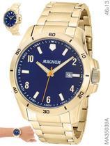 Relógio Magnum Sports MA350 Quartz  Pulseira de Aço Dourado -