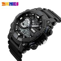 e8b45e6c1f6 Relógio Masculino 1228 Militar Sport Analógico e Digital Marca Skmei  Original