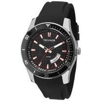 Relógio Masculino a Prova d'água Technos pulseira de Silicone -