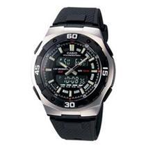 33711a8e7bf Relógio Masculino Anadigi Casio AQ-164W-1AVD - Preto - Casio