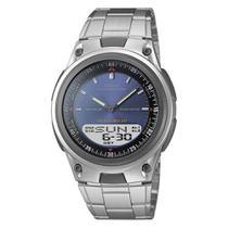 Relógio Masculino Anadigi Casio AW80D2AVDF - Prata - Casio