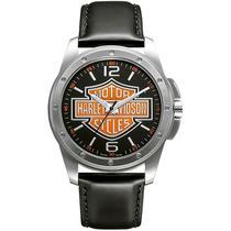 Relógio Masculino Analógico Bulova Harley Davidson WH30019T -