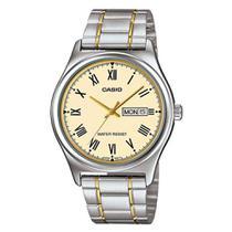 bbd638ae672 Relógio Masculino Analógico Casio MTP-V006SG-9BUDF - Prata Dourado