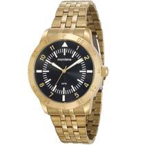 Relógio Masculino Analógico Dourado Mondaine 99205GPMVDE1 - Seculus