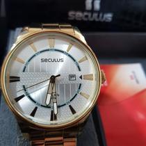 Relógio Masculino Analógico Seculus 28498gpsgda2 -