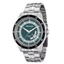 Relógio Masculino Analógico Seculus 28685G0SVNA1  Cromado -