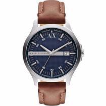 1fca9b1191b9a Relógio Masculino Armani Exchange AX2133 0AN 47mm Couro Marrom