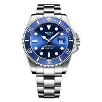 Relógio masculino automático Nibosi 2395 estilo Submariner -