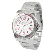 Relógio Masculino Backer Analógico 6200153M - Prata -