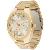 Relógio Masculino Backer Analógico 6412275M - Dourado -